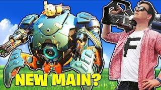 Download Wrecking Ball... MY NEW MAIN!? [Overwatch] Video