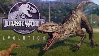 Download Jurassic World Evolution - Mutated Indominus VS Rex, Indom DNA & Raptor Secret! - JW:E Gameplay Video
