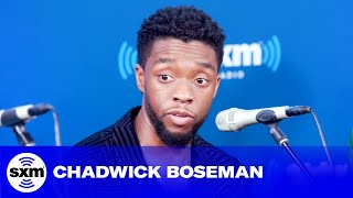 Download Chadwick Boseman gets emotional while discussing impact of Black Panther Video