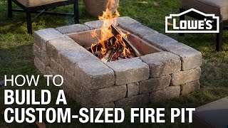 Download How To Build a Custom-Sized Fire Pit Video