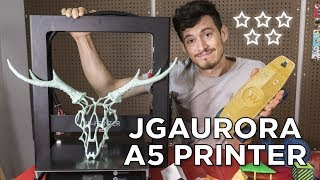 Download JGAurora A5 3D Printer Review // The Most UNDERRATED Printer of 2018 Video
