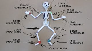Download Paper & Plastic Bead Skeleton Marionette Part 1 Video