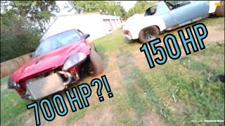 Download Riding in Boostedboiz 700hp Civic! | Giving Kyle a ride in the Porsche Video