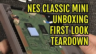 Download NES Classic Mini Unboxing First Look & Teardown - YouTube Video