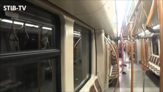Download Brussels Metro : Ligne 1 limitée à Schuman (retour Dépôt) Video