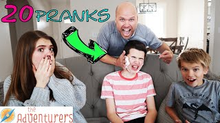 Download 20 Pranks To Pull In 2020 I That YouTub3 Family The Adventurers Video