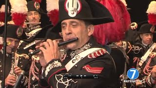 Download Piccolo solo ″The Stars and Stripes Forever″ Italian Carabinieri band [ HD ] Video
