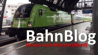 Download Ich teste den FLIXTRAIN?!   Dernau - Köln - Münster   BahnBlog Folge 3   TrainspotterHH Video