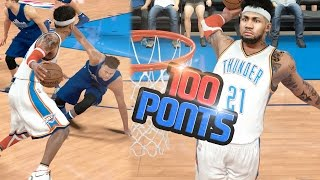 Download SCORING OVER 100 POINTS ON HALL OF FAME!! 4 ANKLE BREAKERS!! NBA 2k17 MyCAREER Ep. 119 Video