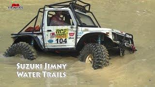 Download Suzuki Jimny in the muddy pools! Fun in the water! Video