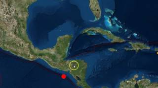 Download Strong 7.0 Earthquake Hits Off El Salvador/Nicaragua Coast As Hurricane Otto Approaches Video