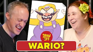 Download Animator Vs. Cartoonist Draw Nintendo Characters From Memory • Draw Off Video