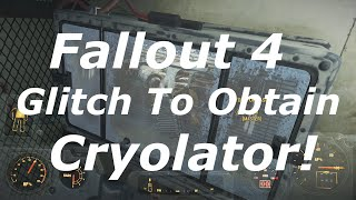 Download Fallout 4 Glitch To Get The Cryolator Legendary Gun Without Master Lockpicking! (Fallout 4 Glitches) Video