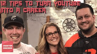 Download 12 TIPS to Turn Your YouTube Hobby Into a Career (Feat. Powerbang & CWA) Video