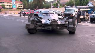 Download The Batman v Superman: Dawn of Justice new Batmobile is Here Video