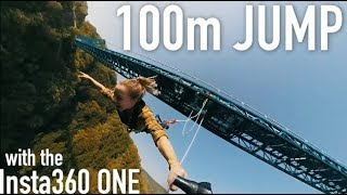 Download Bungy Jumping with a 360 camera Video