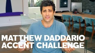 Download Matthew Daddario Reads His Tweets - With Accents! Video