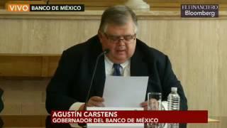 Download Agustín Carstens anuncia dimisión al Banco de México Video