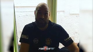 Download TYSON FURY SIGNS WILDER CONTRACT ″YOURE IN BIG TROUBLE! WILL FORCE MY WILL ON YOU UNTIL YOU QUIT!″ Video