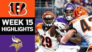Download Bengals vs. Vikings | NFL Week 15 Game Highlights Video