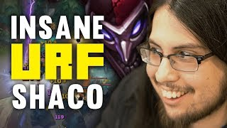 Download Imaqtpie - INSANE SHACO PLAYS ON URF! (YOU HAVE TO SEE IT TO BELIEVE IT) Video