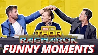 Download Thor: Ragnarok Cast - Best Funny Moments (2017) Video