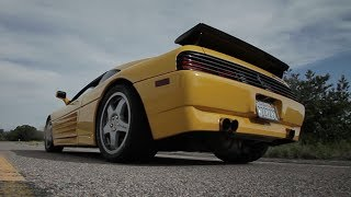 Download The 610 WHP Twin-Turbo, Flamespitting Ferrari 348 Challenge Video