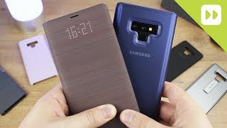 Download Samsung Galaxy Note 9 Official Case Round Up - First Look Video