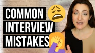 Download 2 Job Interview Mistakes EVERYONE Makes (And How To Avoid Them) Video