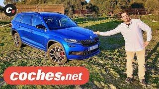 Download Skoda Kodiaq RS 2019 SUV   Primera prueba / Test / Review en español   coches Video