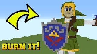 Download IS THAT THE LEGEND OF ZELDA?!? BURN IT!! Video