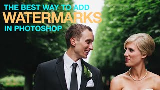 Download The Best Way to Watermark Your Images in Photoshop Video