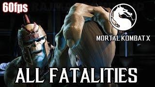 Download Mortal Kombat X - All Fatalities (60fps) [1080p] MKX TRUE-HD QUALITY Video