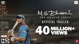 Download M.S.Dhoni - The Untold Story | Official Trailer | Sushant Singh Rajput | Neeraj Pandey Video