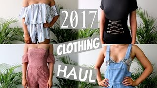 Download New Year, New Clothes! 2017 TRY ON Clothing Haul | SHANI GRIMMOND Video