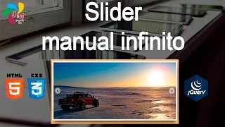 Download Slider manual infinito con HTML, CSS y Jquery Video
