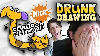 Download DRUNK DRAWING 90's CARTOONS Video