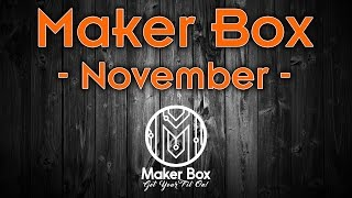 Download Maker Box - November Video