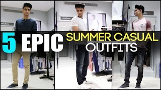 Download 5 EPIC Summer CASUAL OUTFITS Every Man Needs | Classic Men's Look-Book | Mayank Bhattacharya Video