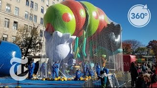Download A Macy's Parade Balloon Comes to Life | The Daily 360 | The New York Times Video