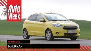 Download Ford Ka+ - AutoWeek review Video