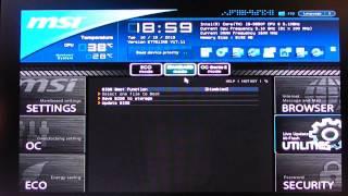 Download How To : MSI Bios Update Deutsch | German UEFI Video