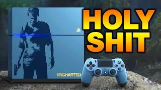 Download HOLY SHIT. Uncharted 4 PS4 Bundle Reaction! Video
