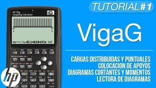 Download VigaG (Analisis Estructural de Vigas) - Tutorial HP 50g Video