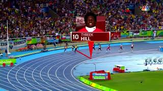 Download Just how fast is Tyreek Hill? Compare him to Usain Bolt! Video