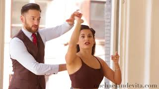Download Shoulder Catch and Variations : Lindy Hop Lesson Video