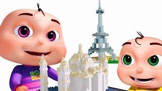 Download Learn Wonders Of The World | Nursery Rhymes & Kids Songs | Original Learning Songs Video