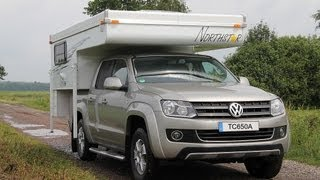 Download Camper / Motorhome Pop-up TC-650 p/ VW Amarok, Toyota Hilux, Ford Ranger Video