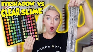 Download MIXING 100 SHADES OF EYESHADOW INTO CLEAR SLIME! SO INTERESTING AND SATISFYING! Video