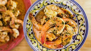 Download Rachael Ray's Calabrian-Style Shrimp Scampi Video